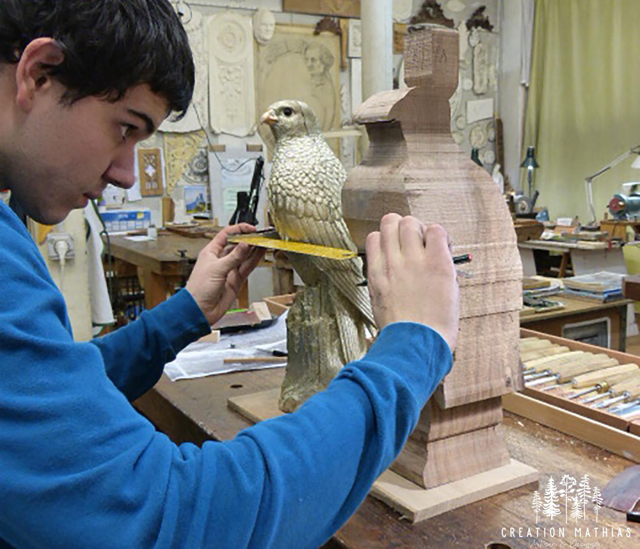 Mathias Lecocq, sculpteur sur bois