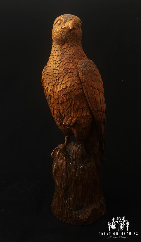 Oiseau en noyer, Mathias Lecocq