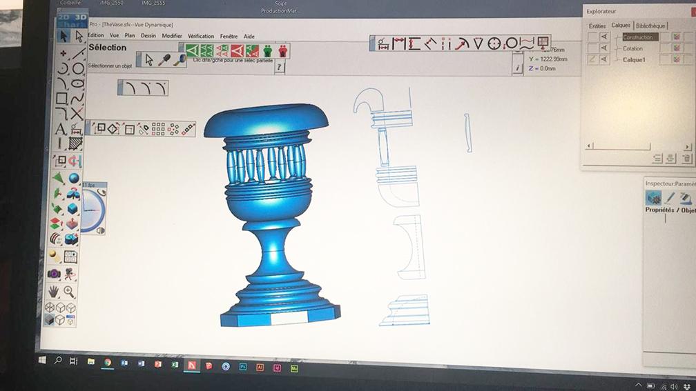 comment c'est fait - Vase XL - 1